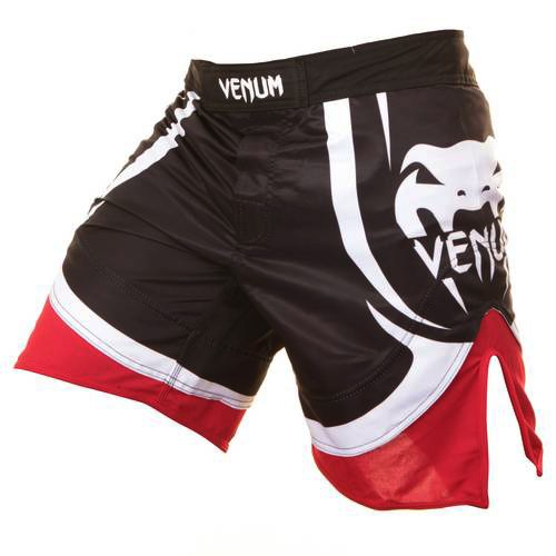Venum Electron 2.0 Fightshorts - Black Red 1
